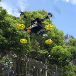 Drone equipped with multispectral camera for Precision Agriculture