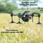 Aerial nitrogen estimation based on NIR imagery (rice crops)