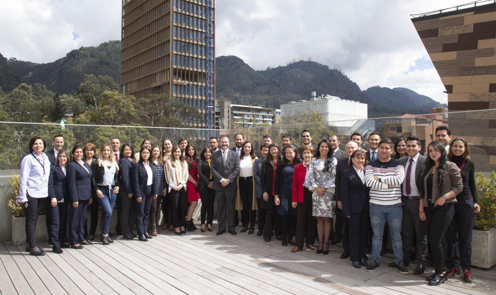Equipo de trabajo de la Vicerrectoría Académica 2019
