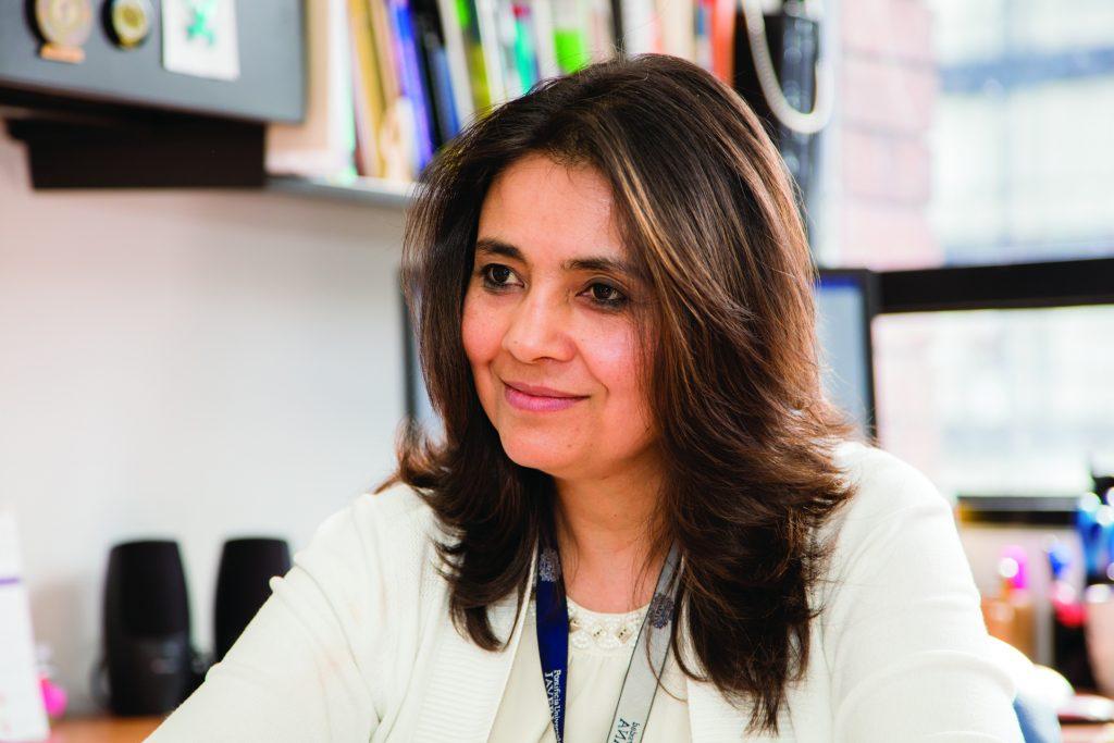 Alba Alicia Trespalacios Directora Doctorado en Ciencias Biológicas de la Facultad de Ciencias