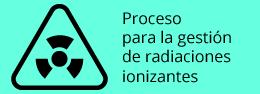 Gestión de radiaciones ionizantes