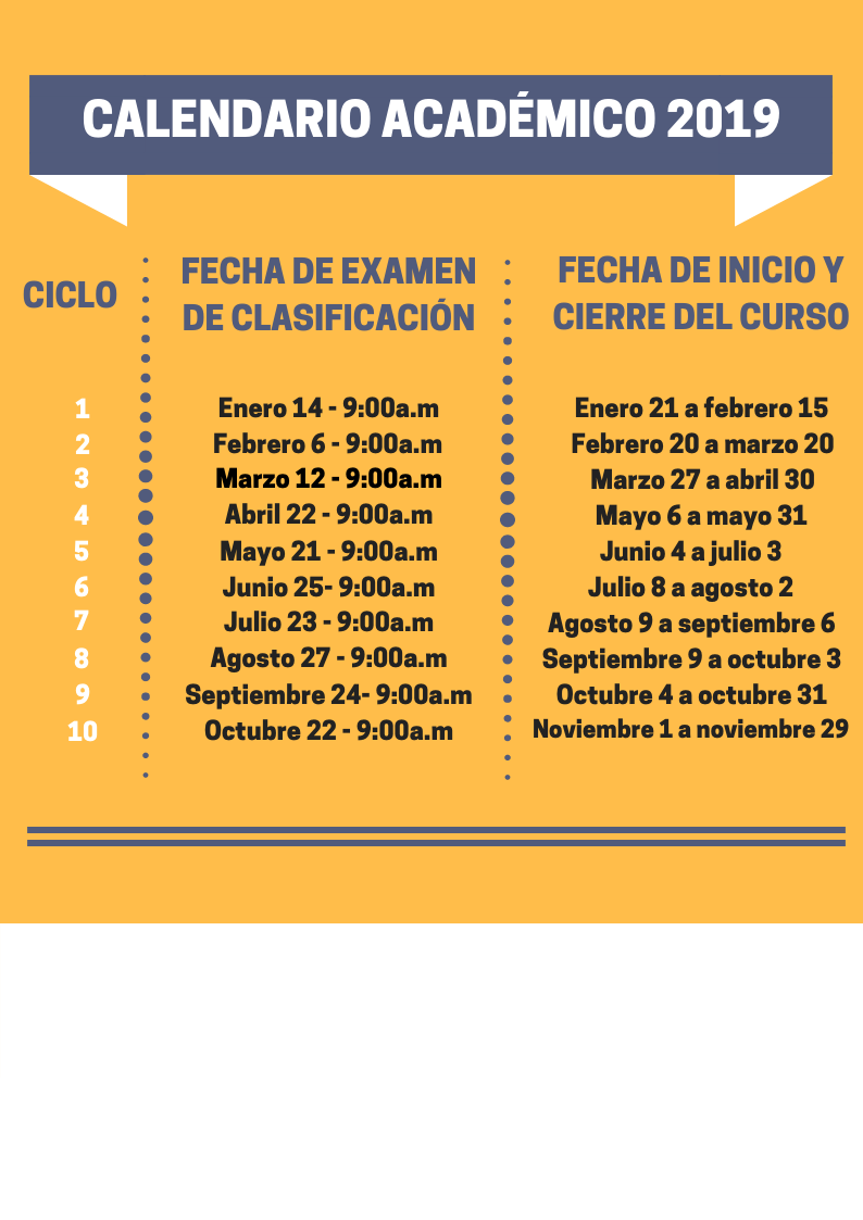 Calendario Septiembre 2019 Colombia.Calendario 2019 Pontificia Universidad Javeriana