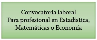 Convocatoria laboral