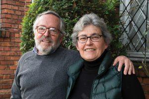 El matrimonio de Germán Saavedra y Ángela Clavo, décadas de conversaciones y gran comprensión.