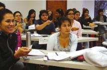 Uso de la herramienta Audience Response System (Turning Point) en la Universidad Javeriana de Cali.     FOTO: Javevirtual