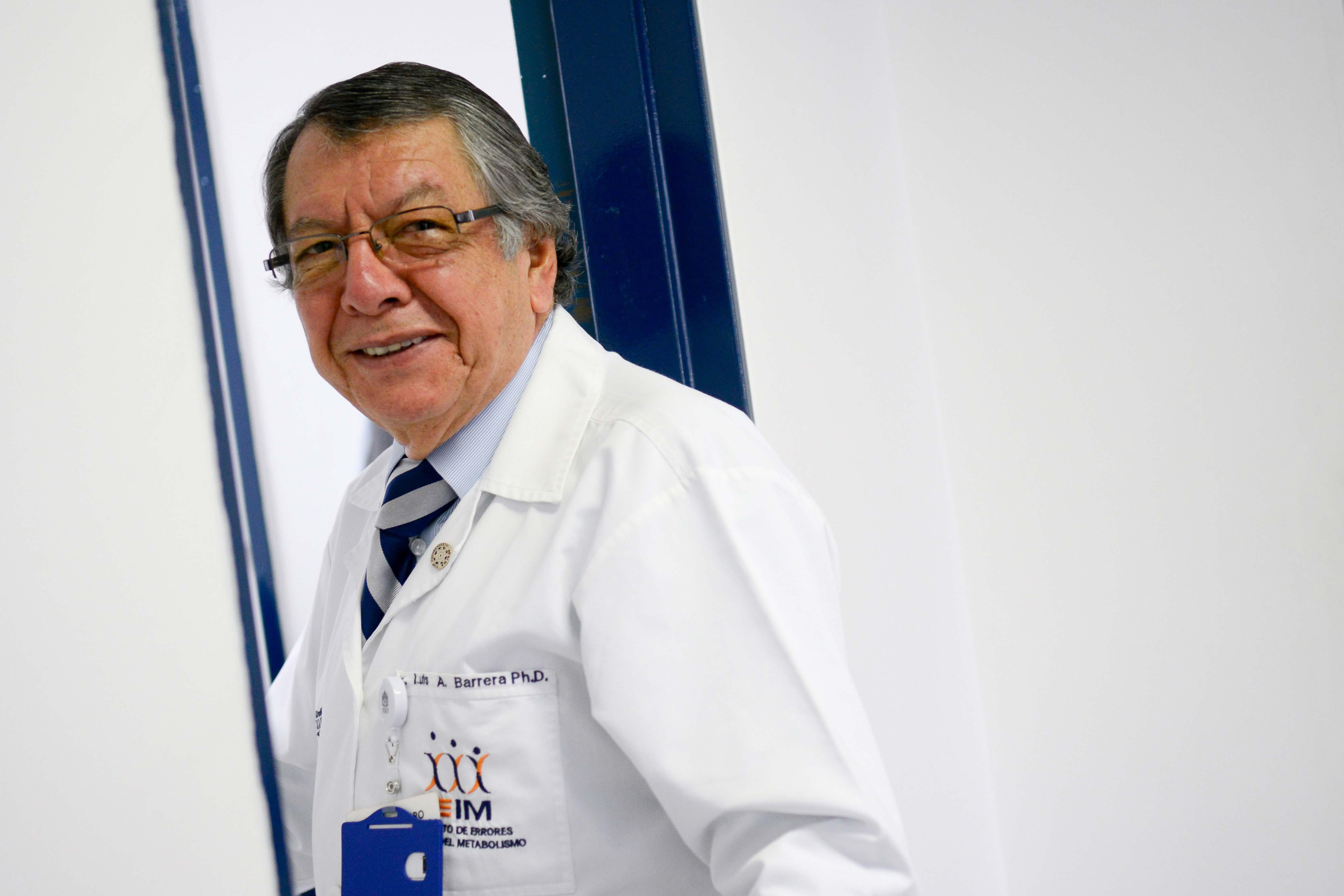 Luis Alejandro Barrera, el doctor que hizo la tarea