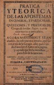 Este texto, de Pedro López de León, fue una de las referencias