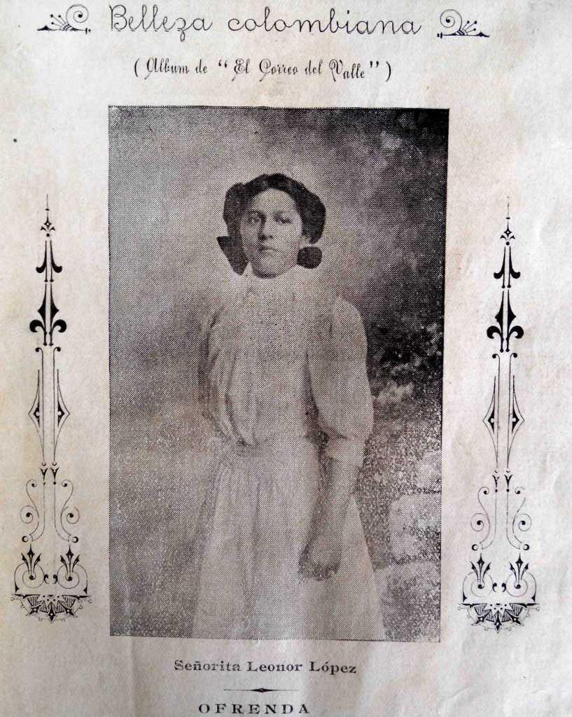 Señora Susana Palau de Velásquez. / Fuente: 'El Correo del Valle', 2 de julio de 1907.