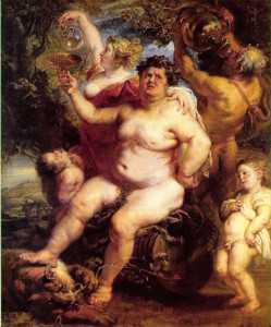 'Baco', de Pieter Paul Rubens (hacia 1640). /Pinterest