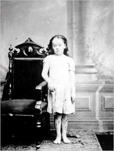 Fotografía de Mary Ellen Wilson (1874). /Wikimedia