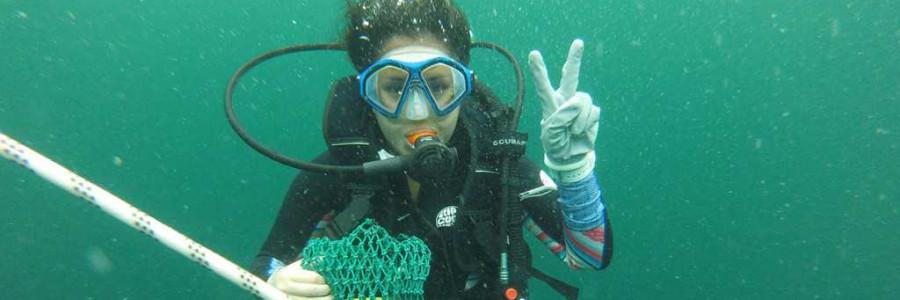 El reto de sumergirse en los arrecifes de coral