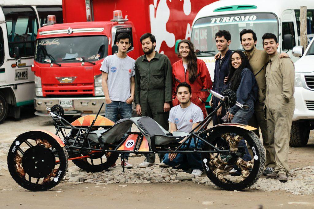 El equipo javeriano que construyó a Marco.
