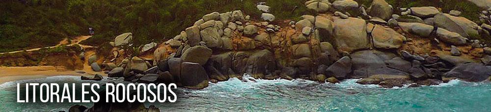 Litorales rocosos en Colombia