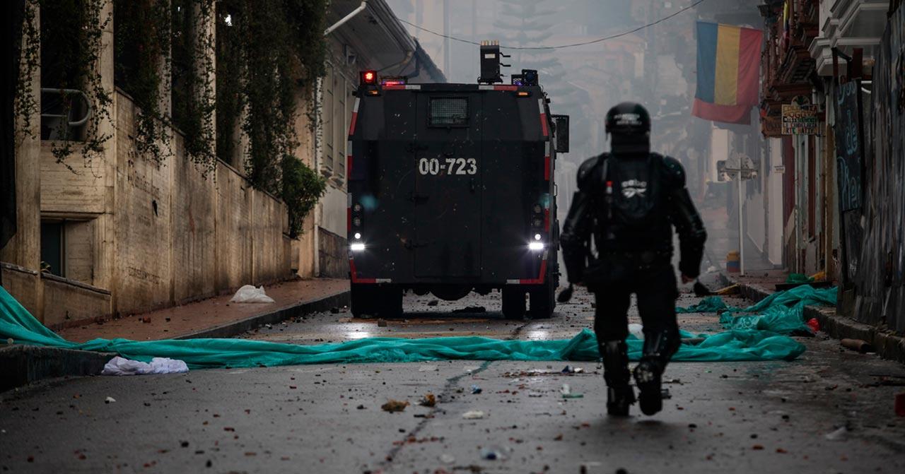 Brutalidad policial en Colombia