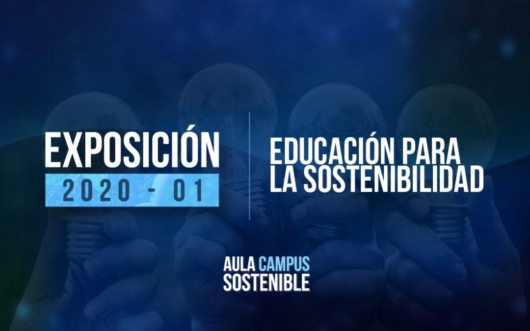 Educación para la Sostenibilidad |Exposición 2020 – 01