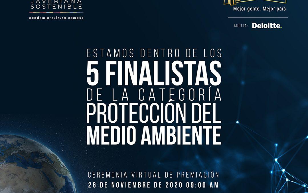 Finalistas de Premios Portafolio  Medio Ambiente